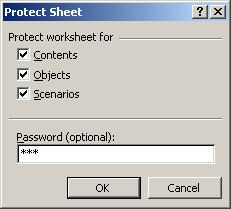 Excel password recovery article - WorkSheet password