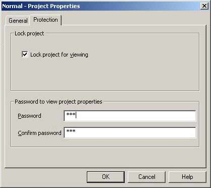 Word password recovery article - VBA password screen2