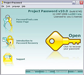 Click to view Project Password 10.0 screenshot